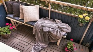 Ideas to decorate a balcony creatively