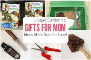 Uncommon and Incredible Gardening Gifts for Mom