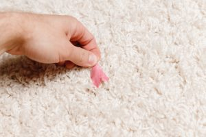 How to get gum out of carpet?